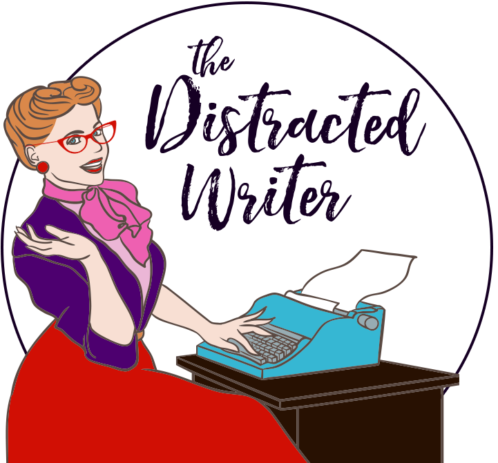 Author MJ Pullen, the Distracted Writer