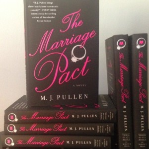 Enter to win an autographed copy of THE MARRIAGE PACT by showing your gratitude!