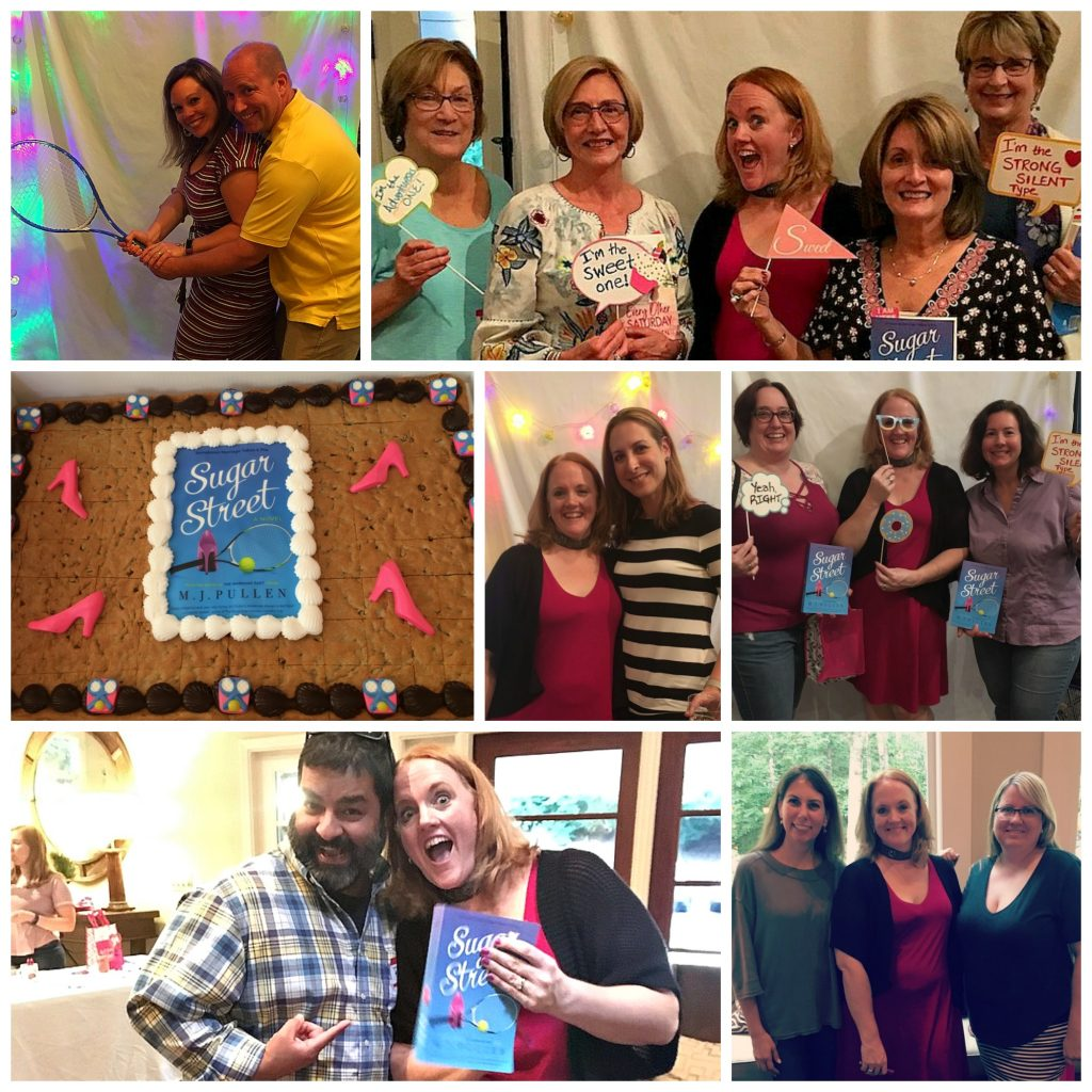 Sugar Street the novel by M.J. Pullen 2018 book launch party