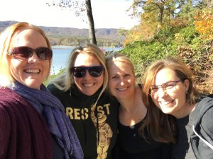 M.J., Katherine, Emily & Kimberly at Lake Cherokee