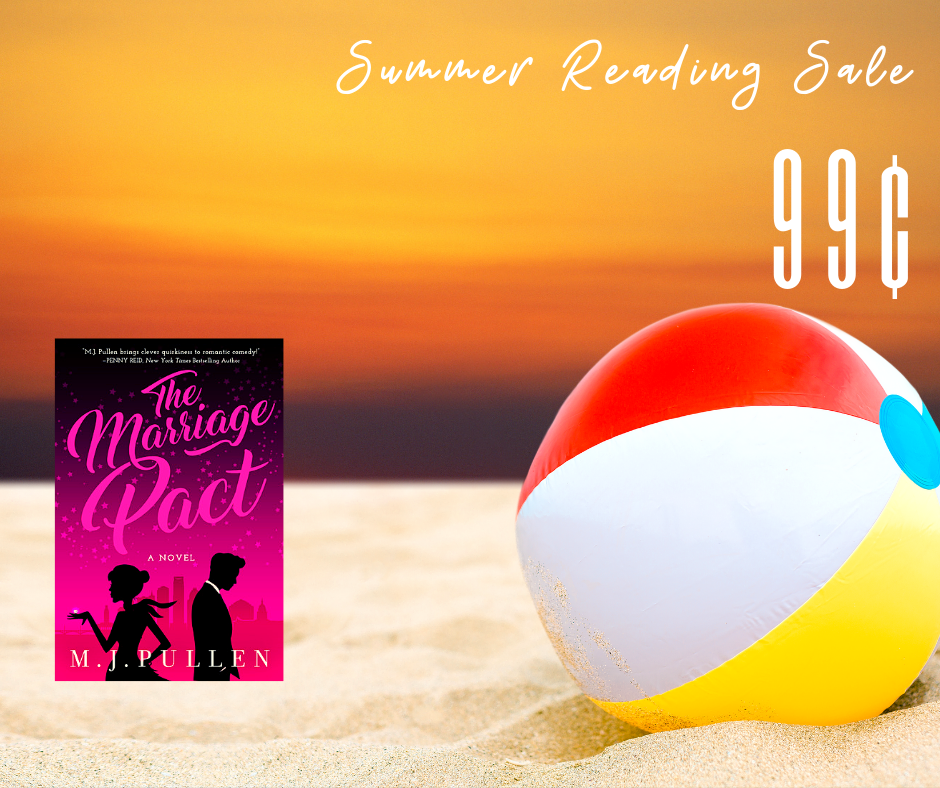 Summer Reading Sale - The Marriage Pact is 99 cents for June 2019 only